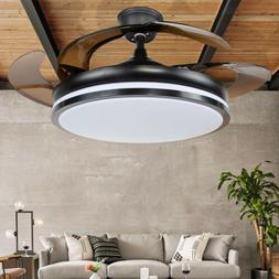 """42 """" Modern Electric Invisible Ceiling Fan With LED Light Ch"""