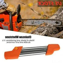 2In1 Easy File Chainsaw Chain Sharpening Tool For STIHL 4mm