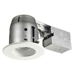 Commercial Electric 4 in. LED Swivel Baffle Round Trim Reces