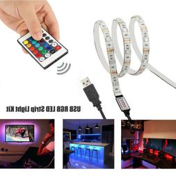 5v usb led strip lights tv back
