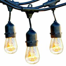 Brightech Ambience,Waterproof Outdoor String Lights,Hanging