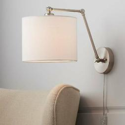Barnes Brushed Nickel Down-Light Wall Lamp