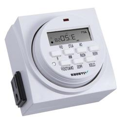 Century 7 Day Heavy Duty Digital Electric Programmable Timer
