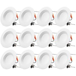 TORCHSTAR 5/6Inch Dimmable LED Retrofit Recessed Downlight,