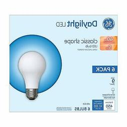GE Lighting Frosted A19 Daylight LED Light Bulbs 5W  6-Pack