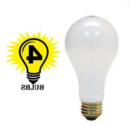 Ge Aline Bulb White 200 W 3405 Lumens A21 Med Base Sleeved