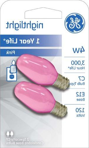 GE 26222 4-Watt 14-Lumen Light Bulb,