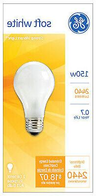 150-Watt Soft White Light Bulb - Pack of 12