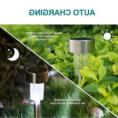 24 Pack LED Lights Outdoor Pathway Lights