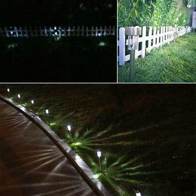 24 Pack LED Lights Outdoor Pathway Stainless