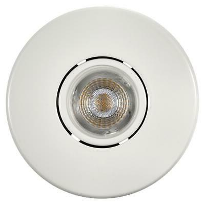 Commercial Electric LED Swivel Baffle Round Trim Recessed Lighting Kit