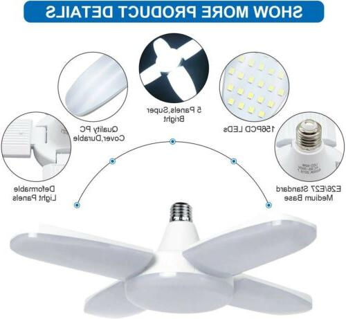 60W Deformable LED Work Home Lamp