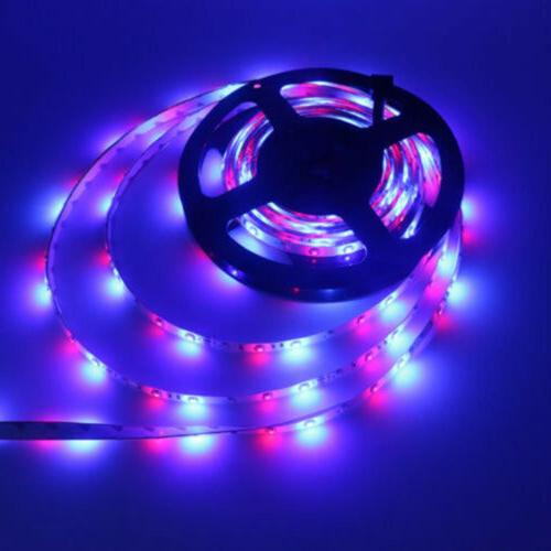 66FT RGB Strip 3528 SMD Remote Fairy Lights TV Party Bar