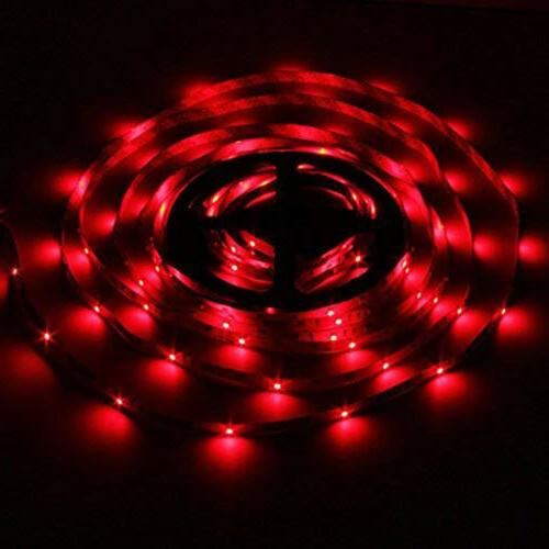 66FT Flexible Strip Light Remote Room TV Party