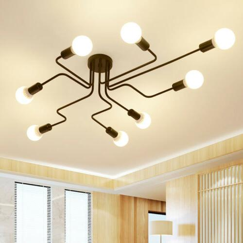 Industrial Retro Steampunk Ceiling Chandelier Indoor Dec Lig