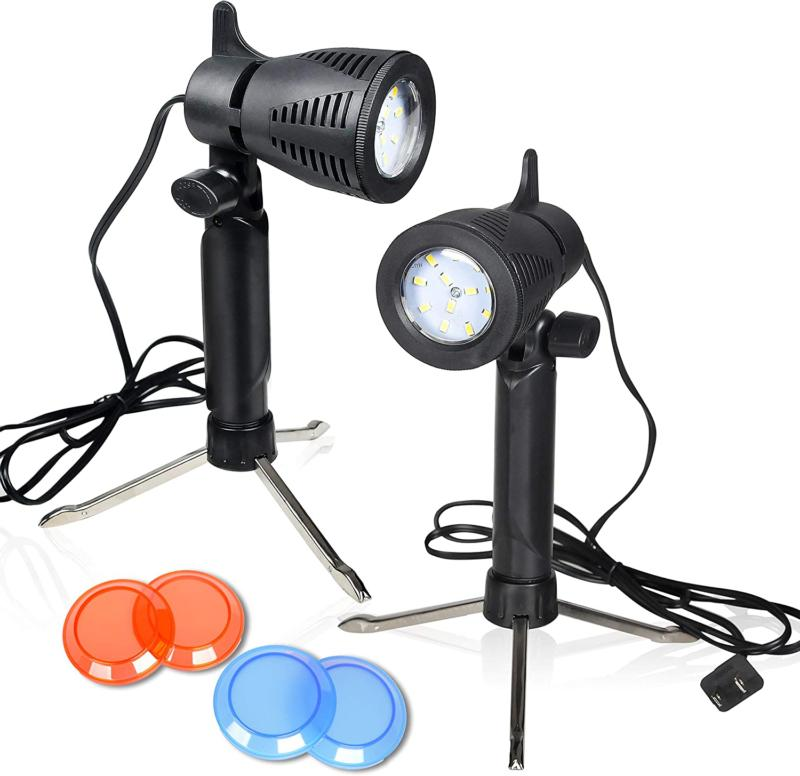 Emart Photography LED Continuous Light Lamp 5500K Portable C
