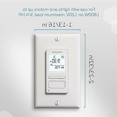 Honeywell Home Econoswitch Programmable White