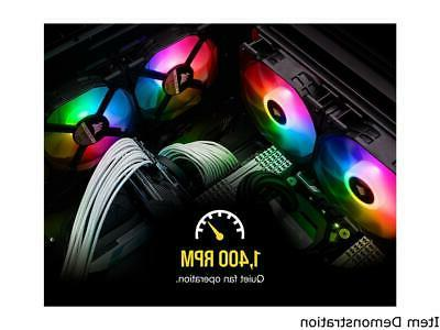 Corsair iCUE SP120 PRO Fan with Lighting Node C