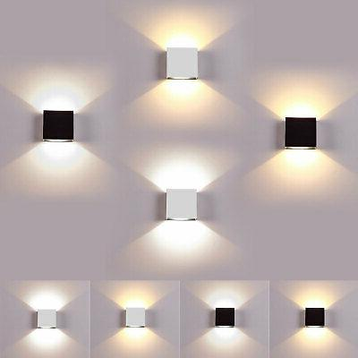 led wall lamp modern up down sconce