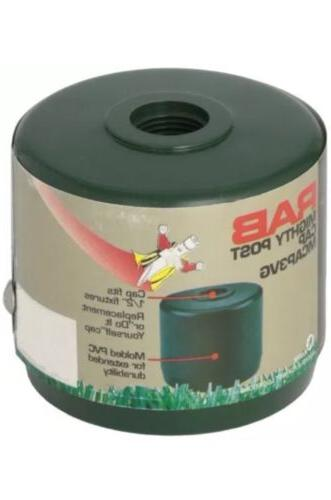 """RAB Lighting MCAP3VG Mighty Post Cap for 3"""" Pipe, 2-7/8"""" OD,"""
