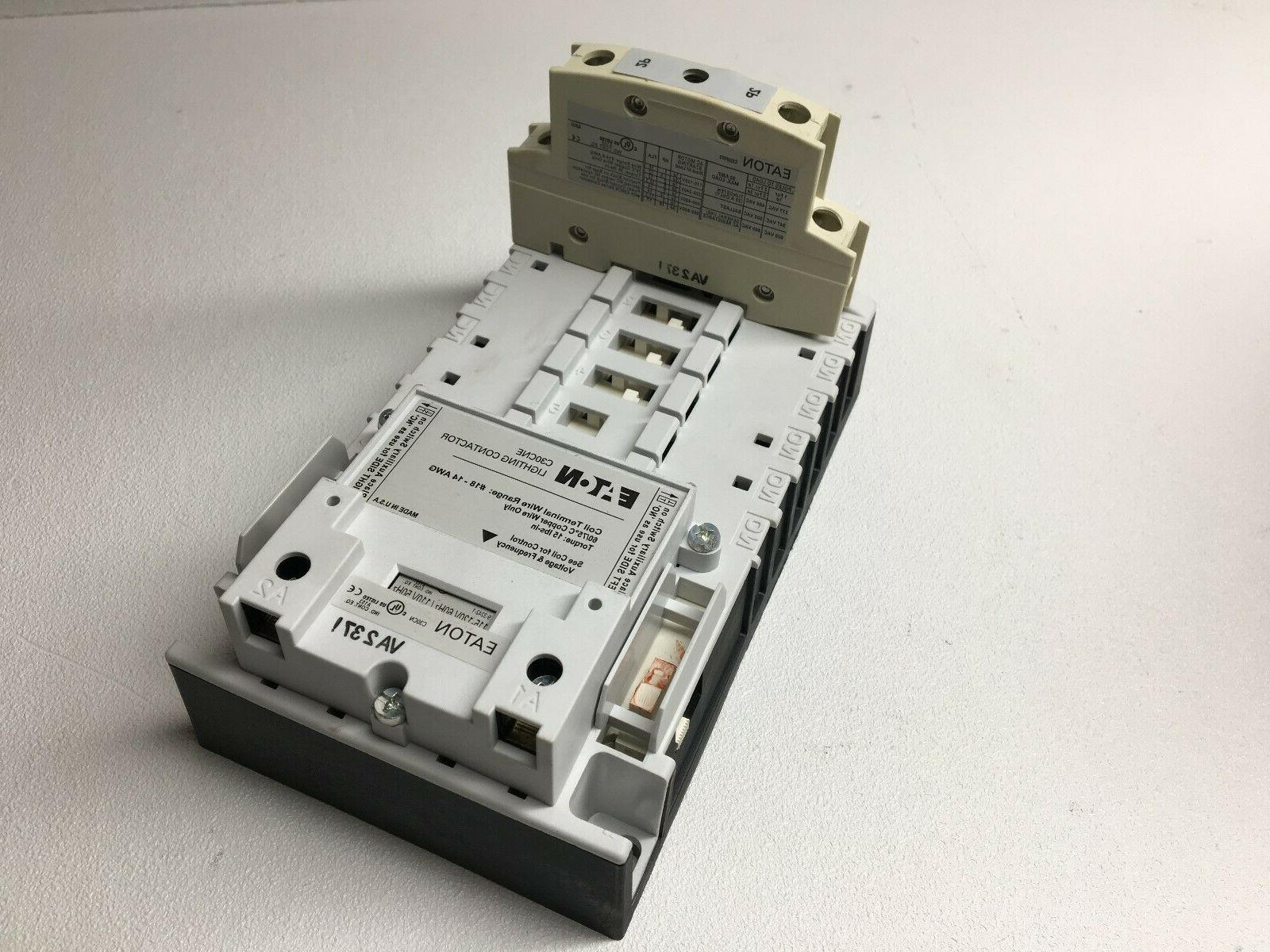 New! Eaton C30CNE20A0 Lighting Contactor