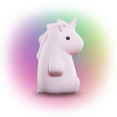 rylie unicorn led rechargeable silicone night light