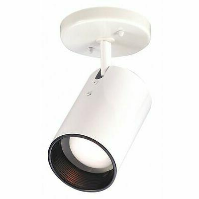 Nuvo SF76/412 White 1 Light R20 Straight Cylinder