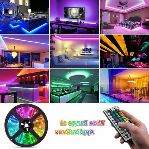 US 16.4ft/Roll Waterproof RGB Set With &