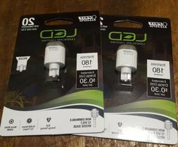 LOT of 2 Feit 2.5w replaces 20W Wedge LED Landscape lighting