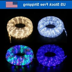 Outdoor/Indoor LED Rope Light  4-Lighting Mode Home Decor 20
