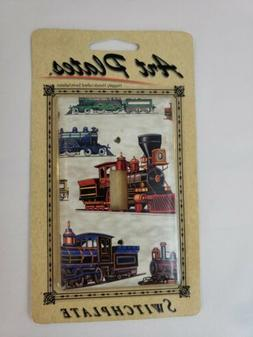 Art Plates Railroad Locomotive Light Switch Plate Cover Sing