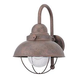 Sea Gull Sebring Outdoor Hanging Wall Light - 15.75H in. Wea