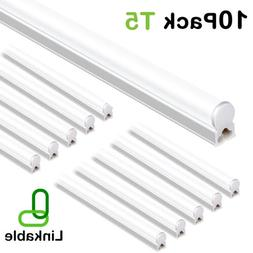 4ft 10 pack led shop light t5