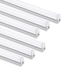 6 PACK of LED T5 4' Linkable Shop Lights White with On/Off S