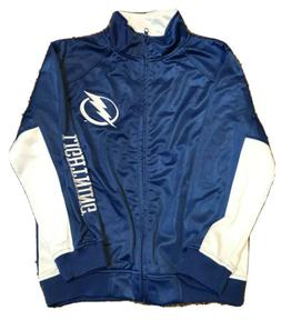 Tampa Bay Lighting Track Jacket Kids Size L NWT Youth