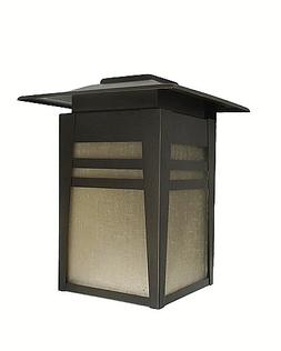 Two Light Mission Style Exterior Wall Mount Old Bronze Home