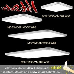 Ultra-thin LED Flush Mount Ceiling Light Dimmable Bedroom Pa