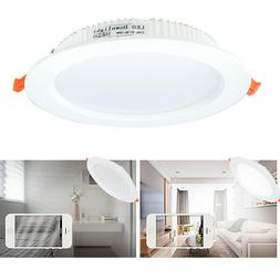 Ultra-Thin LED Recessed Ceiling Light 3000K Soft White,15Wat