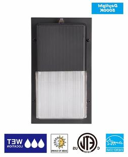 Light Blue™ 15W LED Wall Pack Fixture, 100W HPS/HID Replac