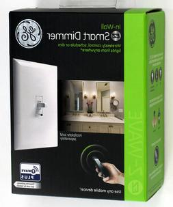 GE Enbrighten Z-Wave Plus Smart Dimmer Toggle Light Switch,
